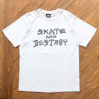 USED THRASHER MAGAZINE SKATE AND DESTROY TEE<img class='new_mark_img2' src='https://img.shop-pro.jp/img/new/icons5.gif' style='border:none;display:inline;margin:0px;padding:0px;width:auto;' />