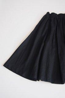 Pois E<br>スカート<br>OPERA linen black