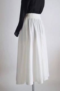 Pois E<br>スカート<br>OPERA cotton white