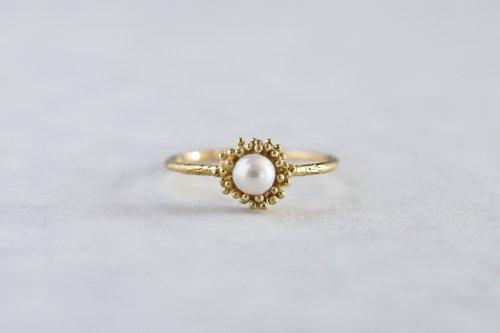 Tubu tubu pearl ring