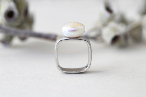 Syami ring + Pearl