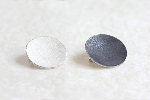 Moon brooch