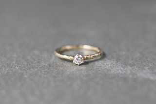 Twig ring + 0.2ct diamond