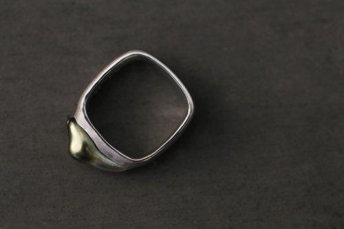 Syami Tahiti pearl ring