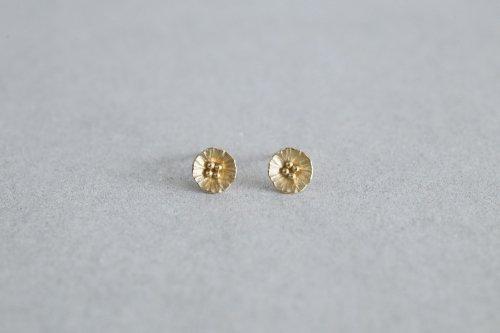 Petit flower earrings / K18