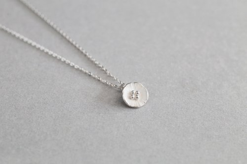Petit flower necklace
