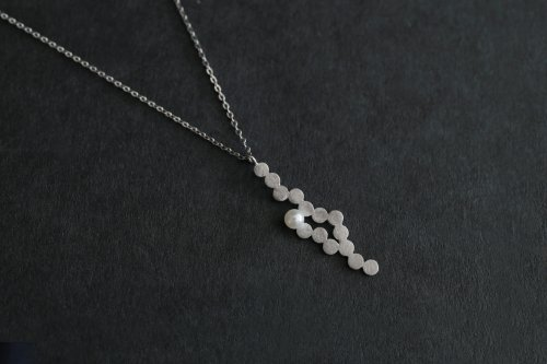Shabon necklace / Silver