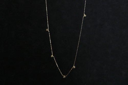 Meguru long necklace / K18YG