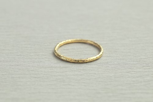 Twig ring 1.5mm / K18
