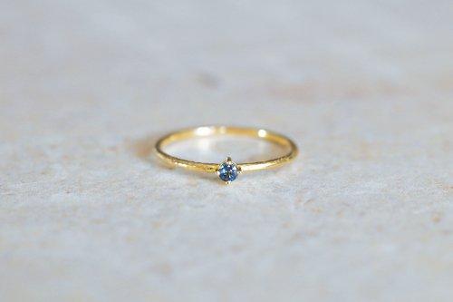 Twig + alexandrite ring / K18