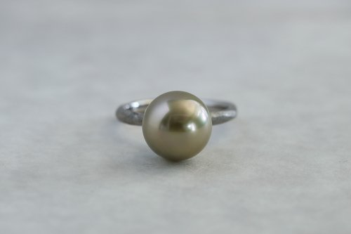Existence pearl ring / Tahiti pearl