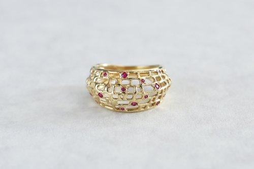 Micro ring + ruby