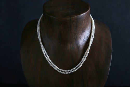 Baby potato pearl necklace 80cm