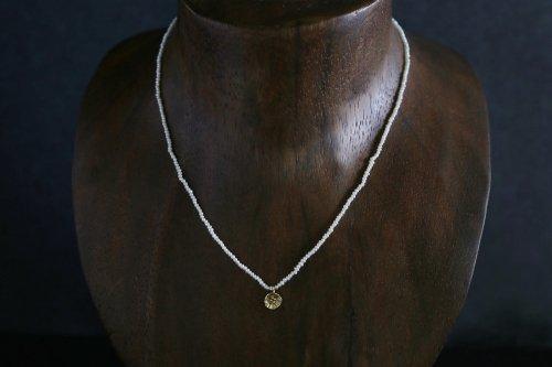 Petit flower keshi pearl necklace