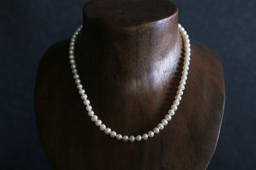Baby potato pearl necklace 42cm
