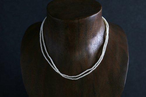 Baby potato pearl necklace 80cm