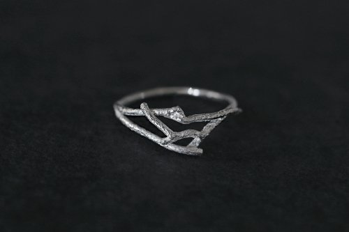 Forest ring / Silver