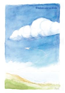 ポストカード2015[青]
