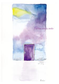 ポストカード2015[紫]