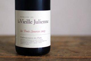 シャトーヌフデュパプ レ・トワ・ソース 2013 / ヴィエイユ ジュリアン (Chateauneuf du Pape les Trois Sources Vieille Julienne)