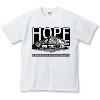 [TRASHBREEDSTRASH × HIROTTON] HOPE T-shirts ワッペン付き