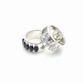 Five stones MARQUISE ring L
