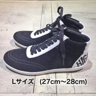 【winter】バックラインハイカットスニーカーLサイズ(27cm〜28cm)
