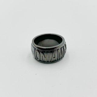 【2021】sample sale family ring L ブラックコート  サイズ#11