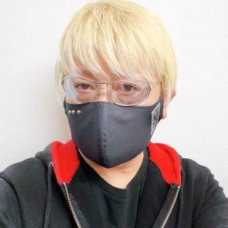 【2021NEW】HI-NOI 新ハンドメイド布マスク スタッズ付き