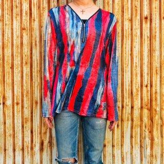 【2021NEW】HI-NOI オールドファッションサイケ ブルー/レッド【数量限定】