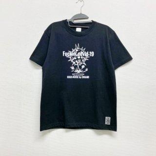 【2021NEW】HI-NOI スタッズデザインTシャツ 前面プリント スタッズ無し