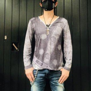 【2021NEW】HI-NOI オールドファッションサイケドット グレー【数量限定】