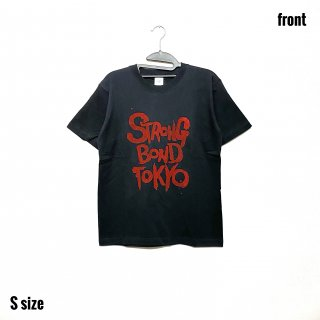 【SBT】ブラックTシャツ レッドインク Sサイズ【数量限定】