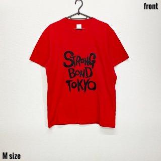 【SBT】レッドTシャツ ブラックインク Mサイズ【数量限定】