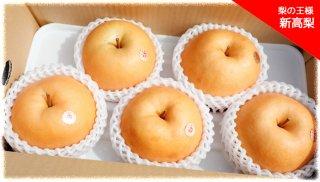 美味しい梨 「新高梨」(にいたかなし) 1個あたり800g〜 5個セット