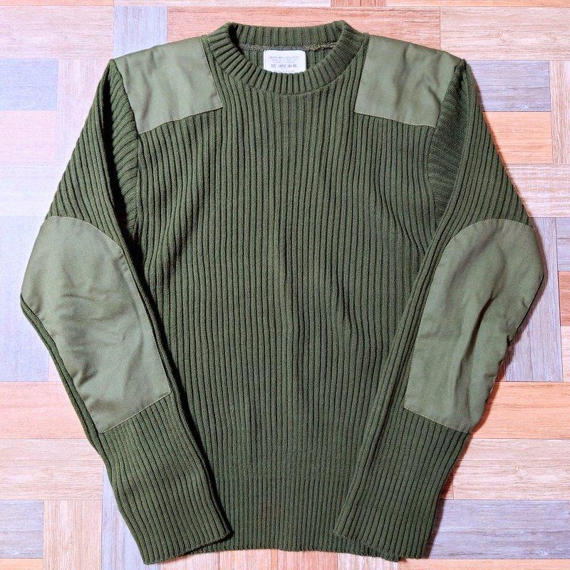 ROTHCO USA製 アクリル コマンド セーター オリーブグリーン (メンズ古着)