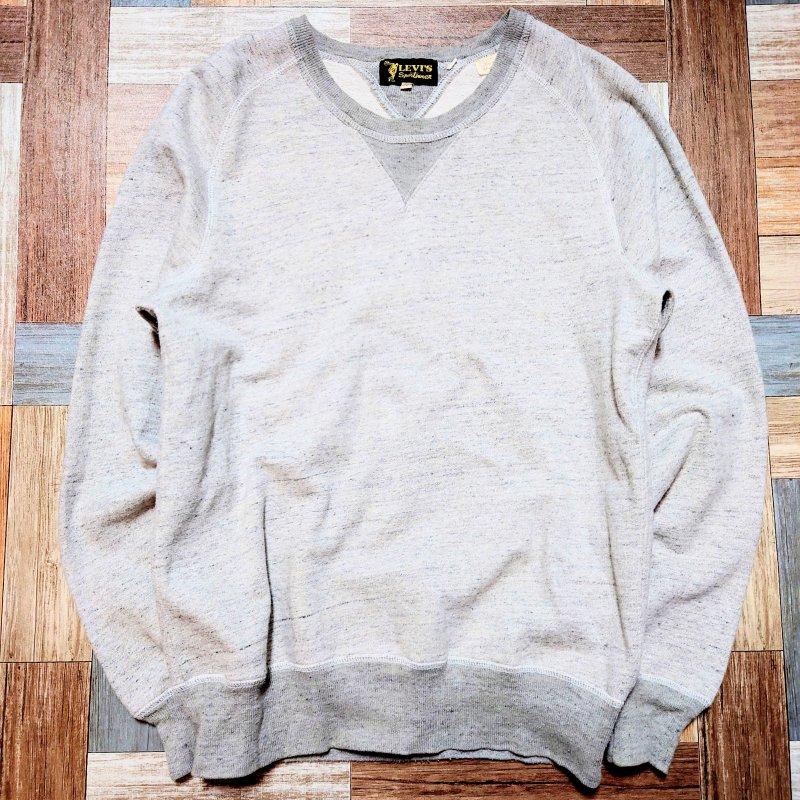 Levi's VINTAGE CLOTHING クラシック スウェット 杢グレー (メンズ古着)