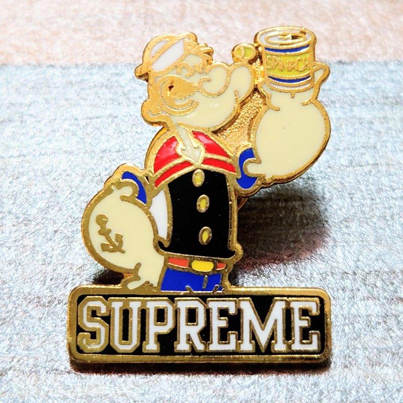 Supreme ポパイ ピンバッジ (USED&VINTAGE)