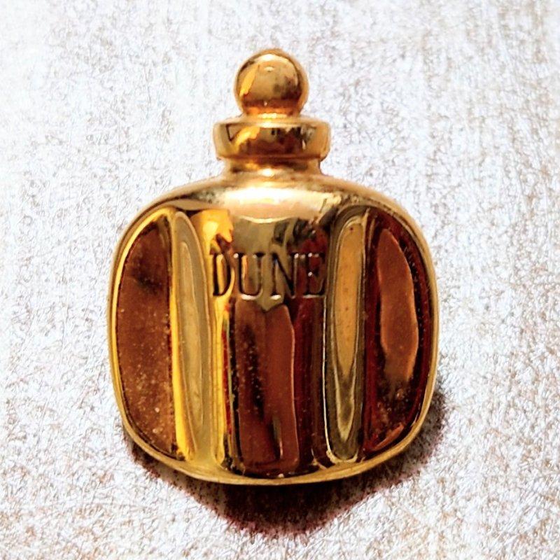 Vintage Christian Dior パフュームボトル ピンバッジ (USED&VINTAGE)