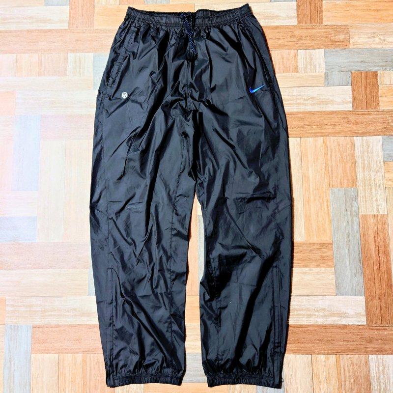 NIKE トラック パンツ ブラック (メンズ古着)