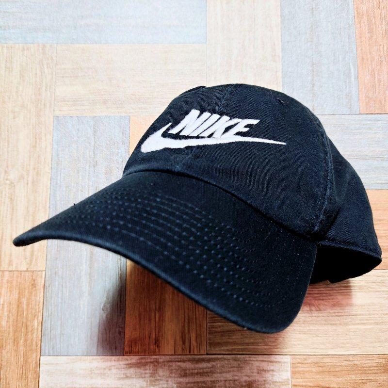 NIKE ロゴ キャップ ブラック (USED&VINTAGE)