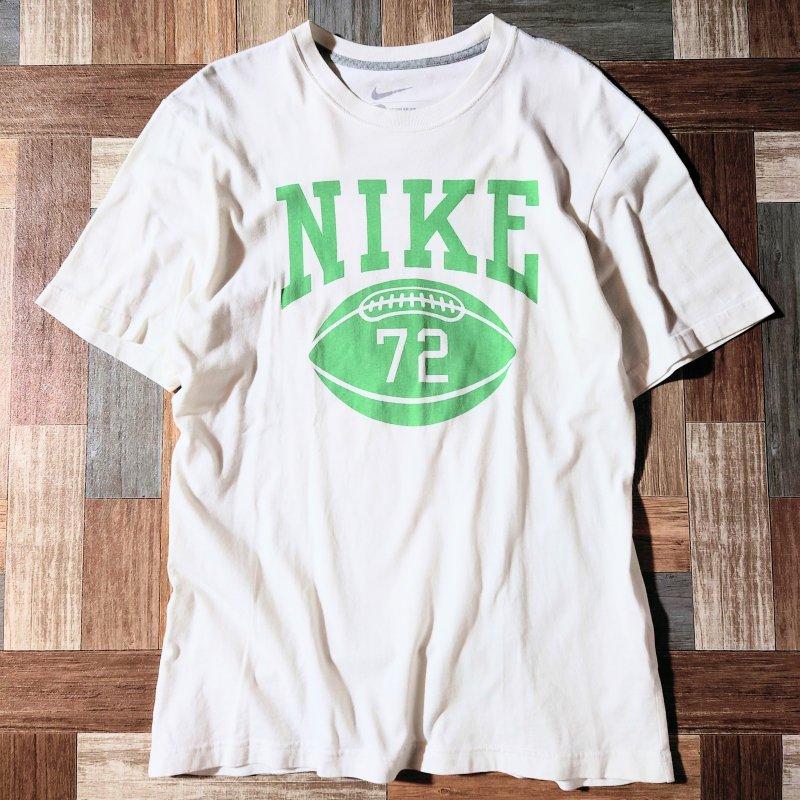 NIKE フットボール Tシャツ (メンズ古着)