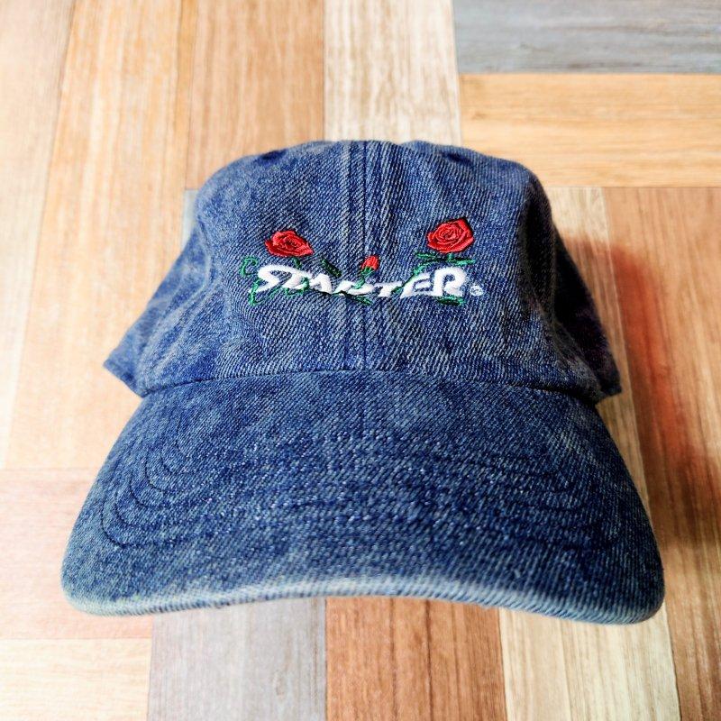 STARTER BLACK LABEL デニム ローズ キャップ インディゴ (USED&VINTAGE)