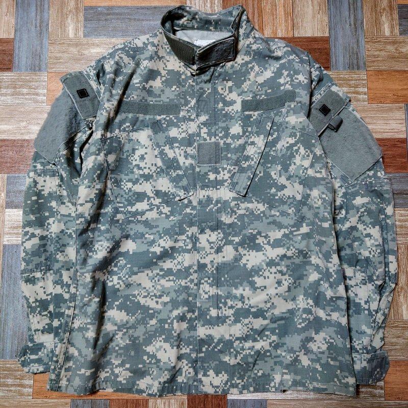 US ARMY ACU BDU ジャケット デジカモ グレー (メンズ古着)