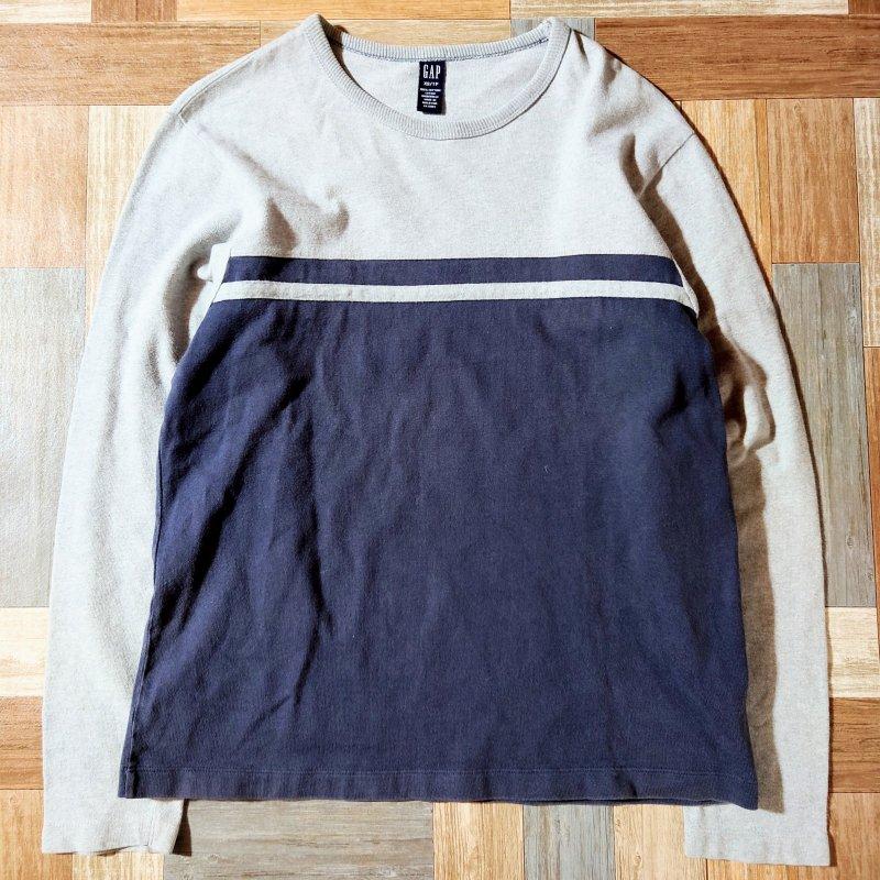 90's Vintage GAP 長袖 Tシャツ (メンズ古着)