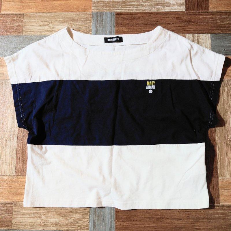 MARY QUANT フレンチ ドルマン Tシャツ (レディース古着)