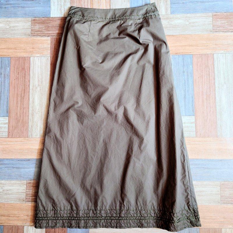 Vintage laura ashley コットン ロング スカート (レディース古着)
