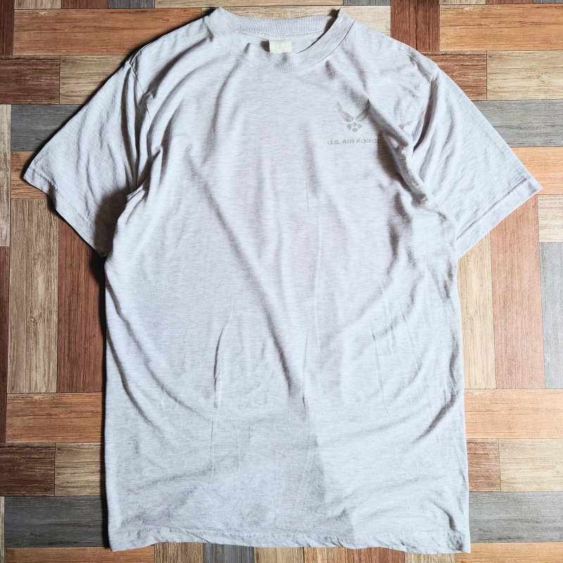 07's 米軍実物 US AIR FORCE Tシャツ グレー (メンズ古着)