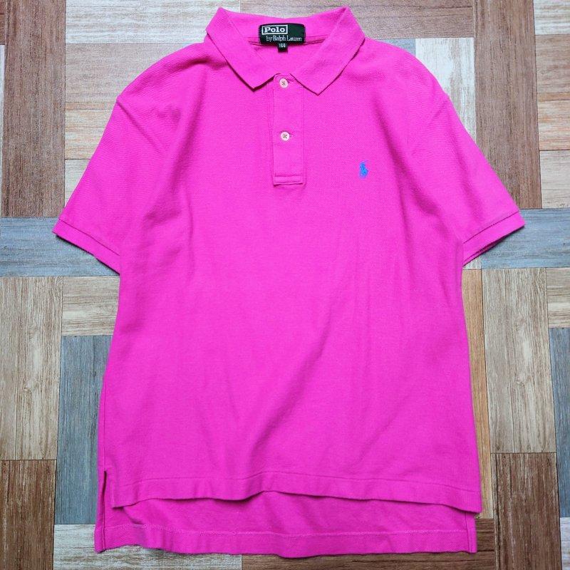 90's POLO RALPH LAUREN ポロシャツ 160サイズ (キッズ古着)