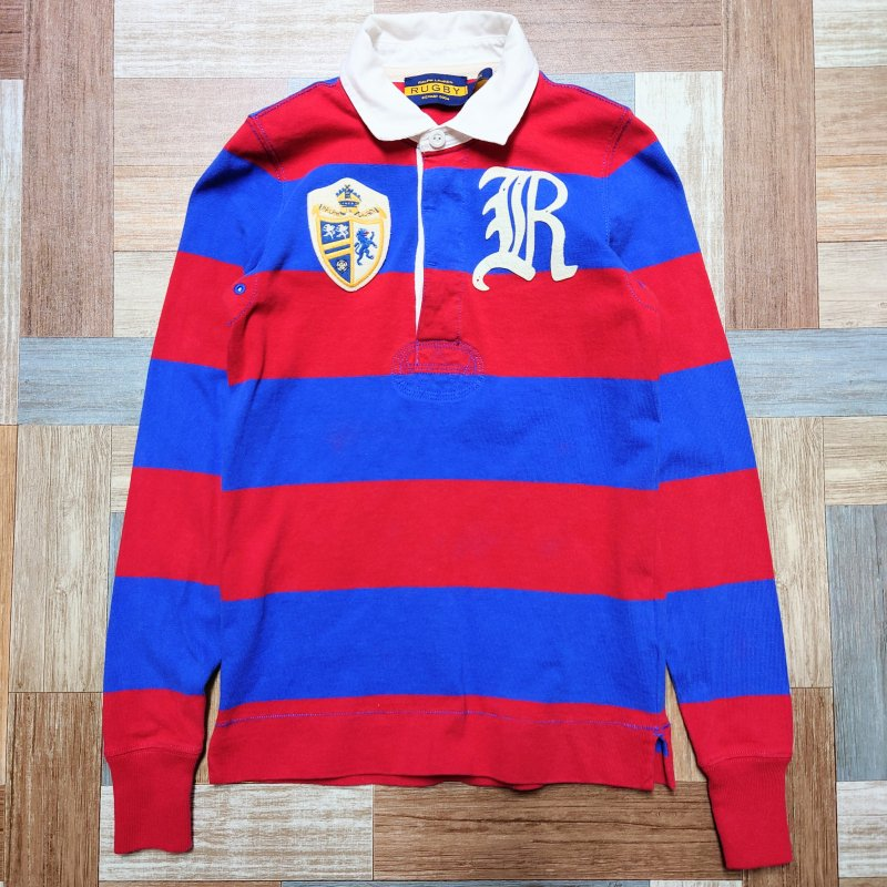 RUGBY RALPH LAUREN ラガーシャツ (レディース古着)